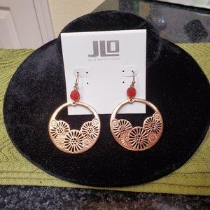 JLo piereced earrings